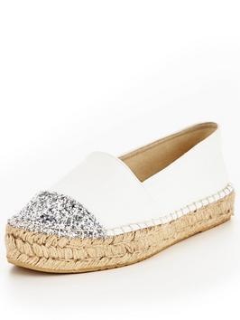 http://www.littlewoodsireland.ie/v-by-very-evelyn-glitter-toe-cap-espadrille-white/1600156216.prd