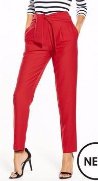 http://www.littlewoodsireland.ie/v-by-very-bow-detail-tapered-leg-trouser/1600198847.prd