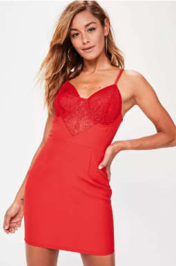 https://www.missguided.eu/red-lace-bodice-midi-dress-10054054