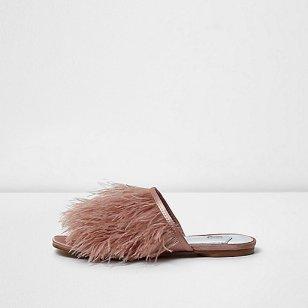 https://www.riverisland.ie/p/light-pink-feather-slip-on-sandals-706473