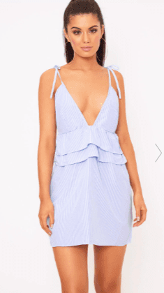 https://www.prettylittlething.com/blue-pinstripe-peplum-frill-detail-shift-dress.html
