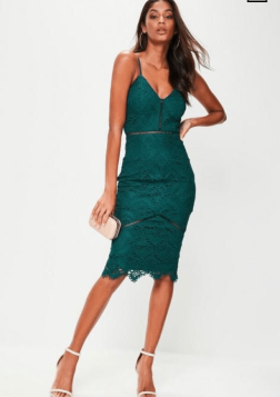 https://www.missguided.co.uk/green-lace-ladder-detail-midi-dress-10065092