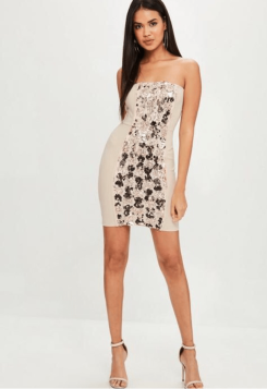 https://www.missguided.co.uk/nude-bandeau-sequin-dress-10072501