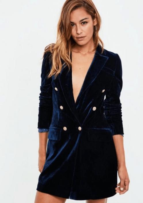 https://www.missguided.co.uk/navy-velvet-gold-button-blazer-dress-10073629