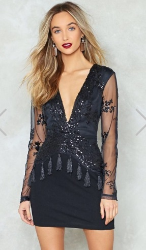 http://www.nastygal.com/ie/sequin-plunge-neck-bodycon-dress/AGG91790.html?color=105