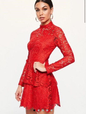 https://www.missguided.co.uk/red-lace-high-neck-frill-layered-mini-dress-10095665