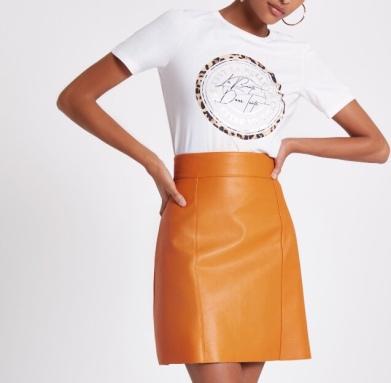 https://www.riverisland.ie/p/orange-faux-leather-mini-skirt-723960