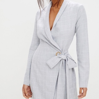 https://ie.prettylittlething.com/grey-checked-blazer-dress.html