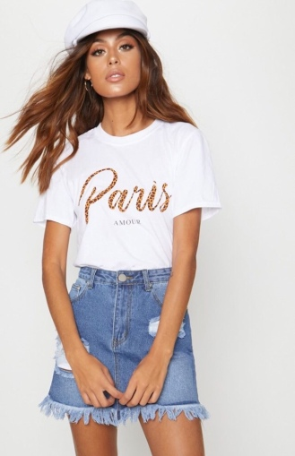 https://ie.prettylittlething.com/white-paris-slogan-t-shirt.html