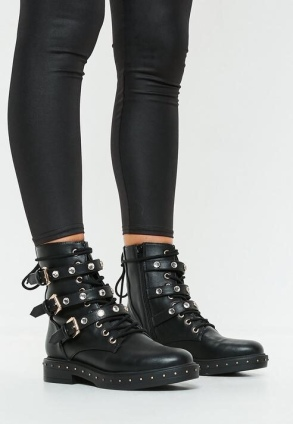 https://www.missguided.eu/black-real-leather-studded-ankle-biker-boot-10108995