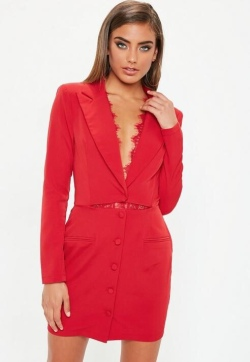 https://www.missguided.eu/red-lace-insert-cut-out-blazer-dress-10105393