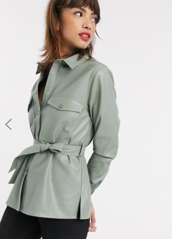 https://www.asos.com/stradivarius/stradivarius-faux-leather-shirt-with-belt-in-sage-green/prd/14378074?CTARef=Saved+Items+Image