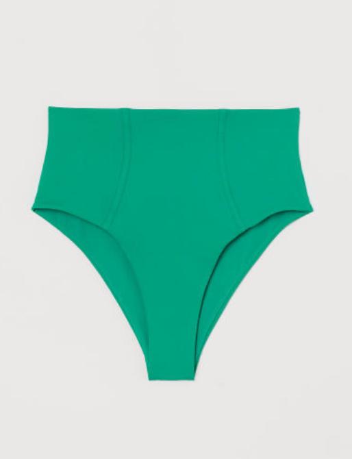 H&M Green bikini bottom